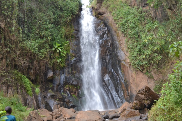 I love this waterfall and visit it everytime I visit, Nyeri, Kenya