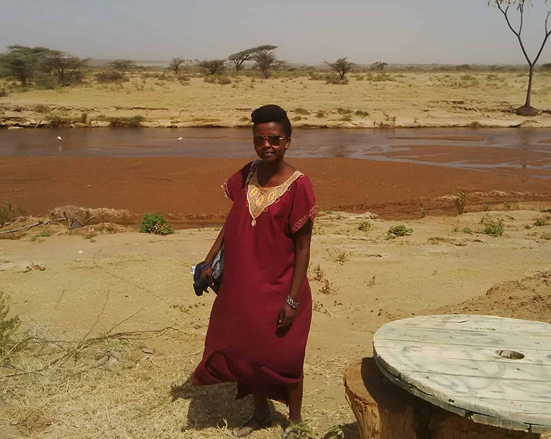 On the banks of Ewaso Nyiro in Archers Post