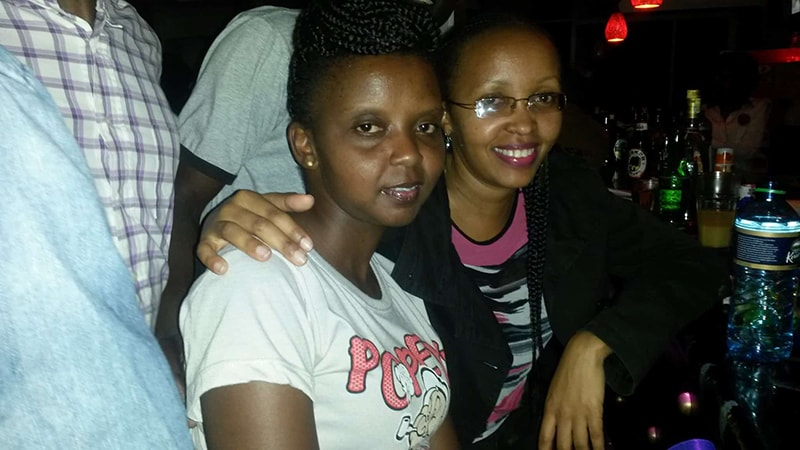 Partying with Susan in Meru, Kenya