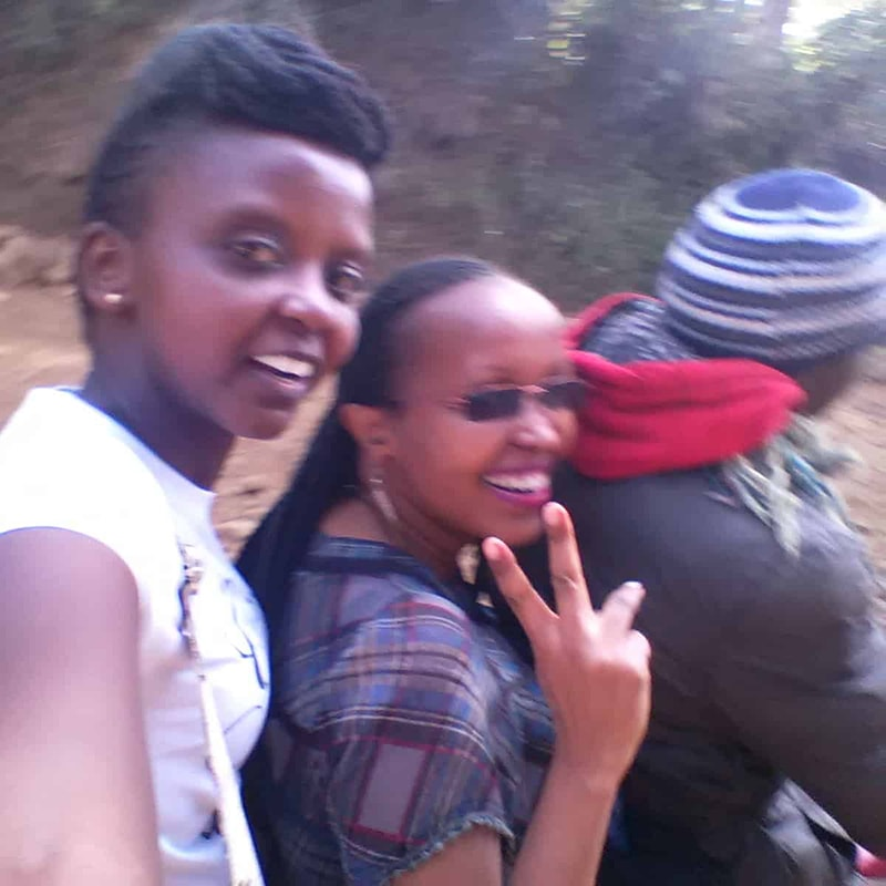 The bumpiest motorbike ride ever, in Meru, Kenya