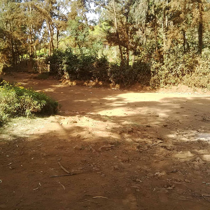 The terrain to Mukulu Consolata Shrine