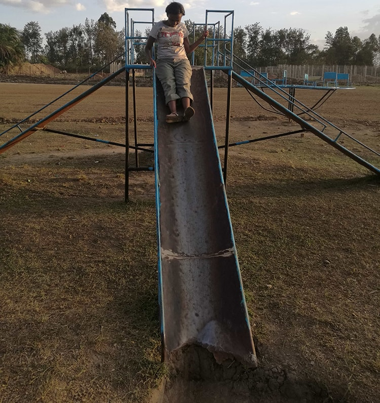 The slides at Kitale National Conservancy