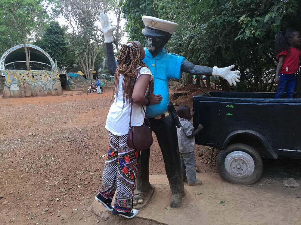 Nduta seems to have found her prince charming in Kitale National Conservancy in Kitale, Kenya