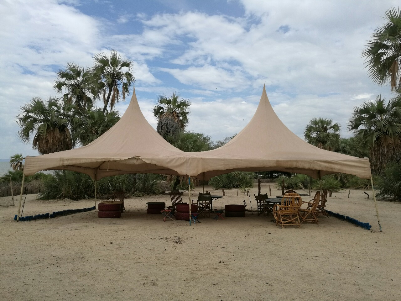 Eliye Springs Resort, Turkana, Kenya