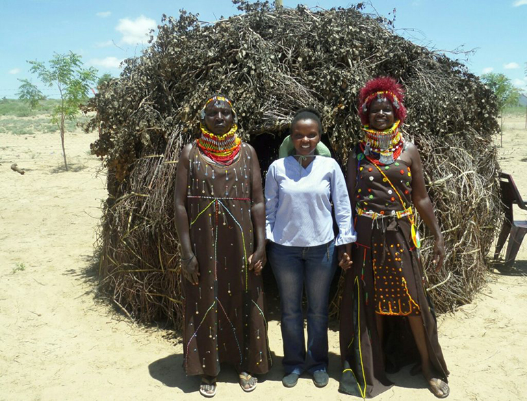 Fashion sense of Turkana ladies