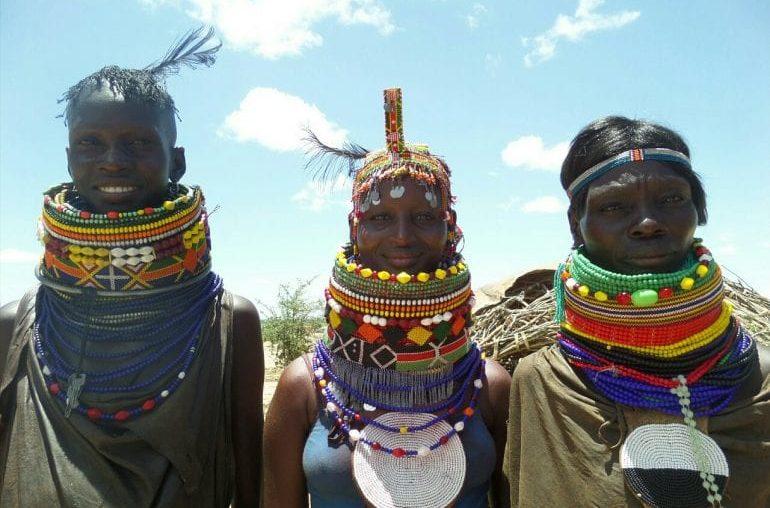 traditional Turkana lady