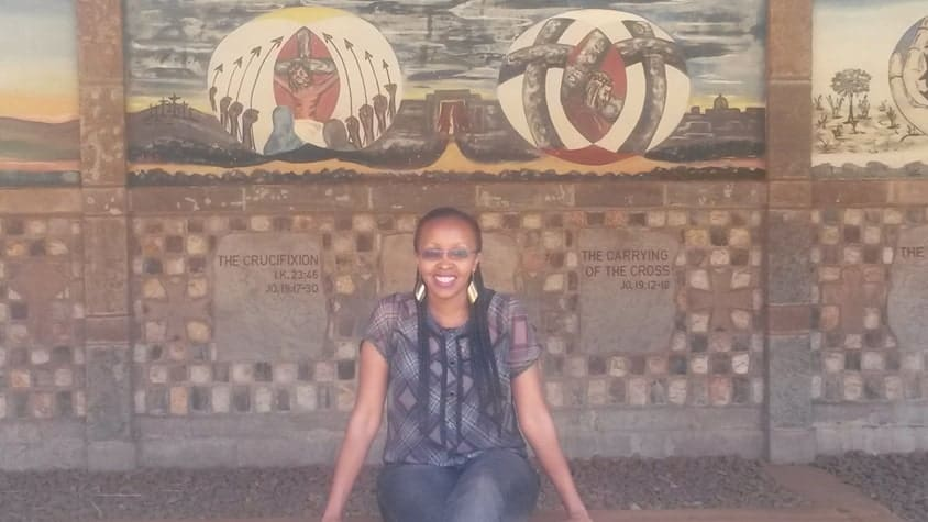 Susan-at-Mukulu-Consolata-Shrine-Maua